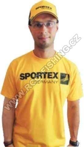 109d8f8afc3 Tričko Sportex s velkým logem - žluté - Rybářské potřeby