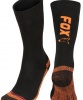 Ponožky Fox Collection Thermolite long sock Black/Orange