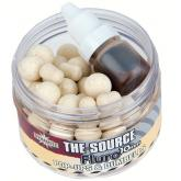 Plovoucí boilie Dynamite Baits White Fluro Pop-ups and Dumbells - Source